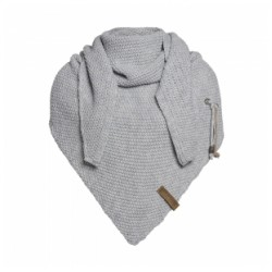 Knit Factory Sjaal licht Grijs