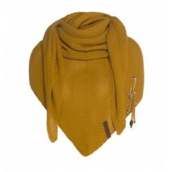 Sjaal Knit Factory oker geel