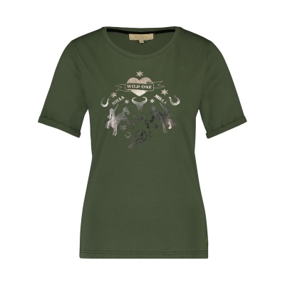 Tammie T-Shirt Army